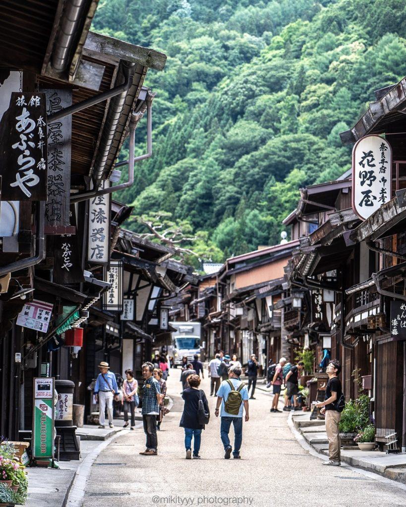 奈良井宿,日本,長野
