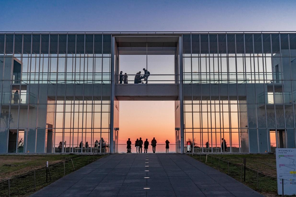 葛西臨海公園,夕陽,夕暮れ