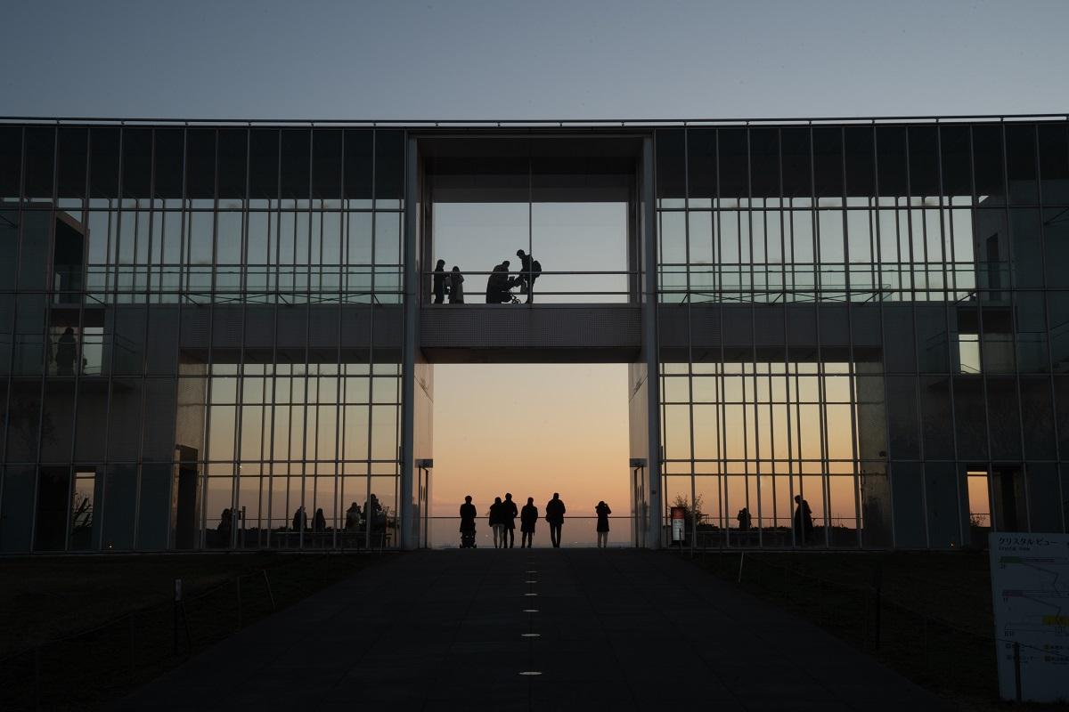 葛西臨海公園,夕陽,夕焼け