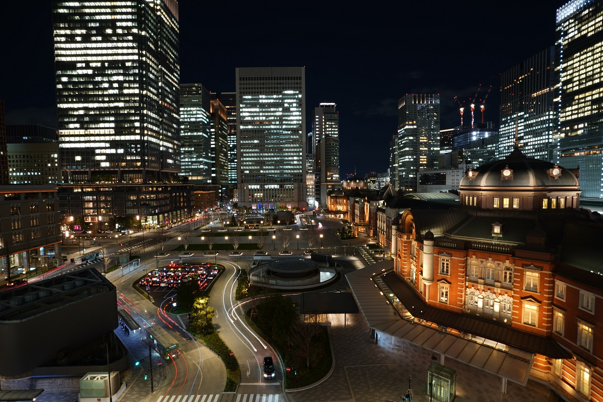 夜景,東京,KITTE