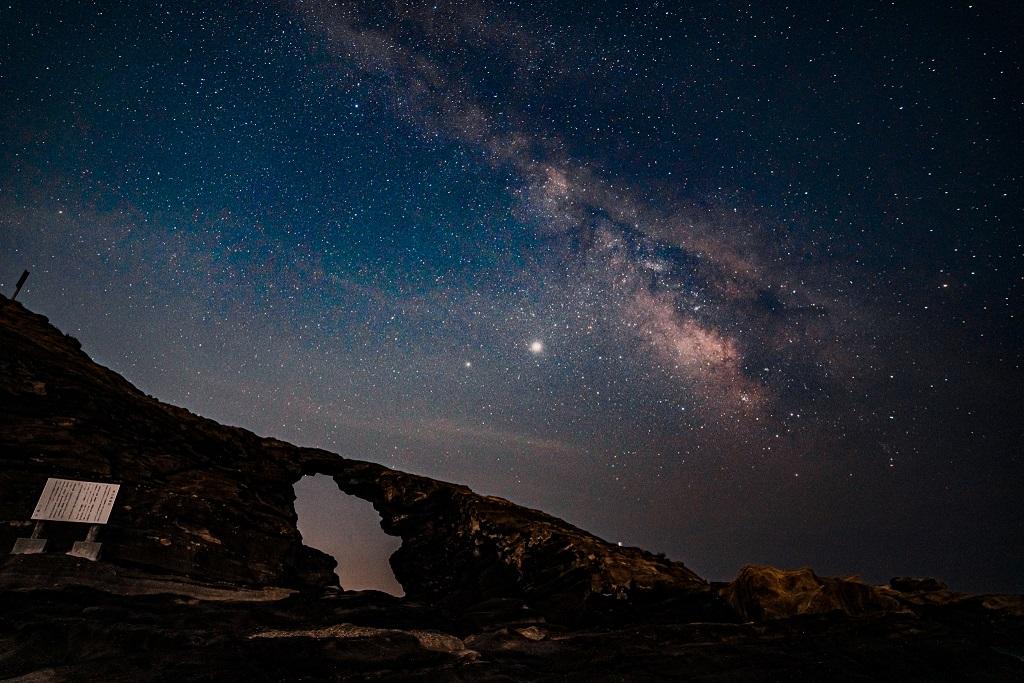 ISO,星,天の川,城ヶ島