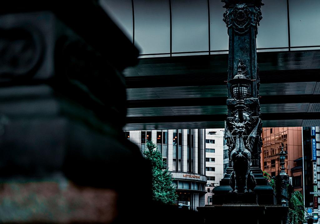 龍,日本橋,かっこいい