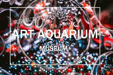 常設展になって帰ってきた!「アートアクアリウム美術館」に撮影に行ってきました。