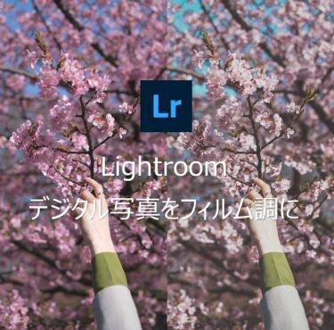 Lightroomでデジタル写真をフィルム風に仕上げるレタッチ術