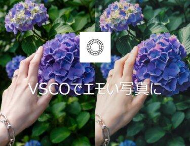 【VSCOの使い方】無料でおしゃれに写真編集(加工)ができるアプリ